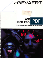 Agfacolor User Processing 1972