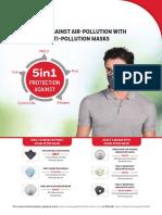 Honeywell Pollution Mask Flyer 3