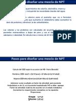 Pasos para Calcular NPT