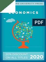 Stanford University Press   Economics 2020 Catalog