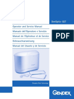 Gendex DenOptix QST Dental X-Ray System - Maintenance Manual