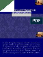 Órganos Autónomos e Independientes...