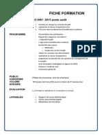 ISO 9001 Poste-Audit