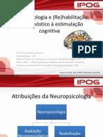Neuropsicologia e (Re)Habilitação- Do Diagnóstico à Estimulação Cognitiva.