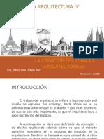 3. Creacion Del Espacio Arquitectonico