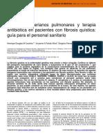 Agentes Bacterianos Pulmonares y Terapia Antibitica en Pacientes Con Fibrosis Qustica Gua Para El Personal Sanitario
