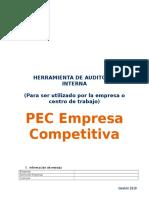Herramienta de Auditoria PEC Competitiva_V2019 Para Empresas