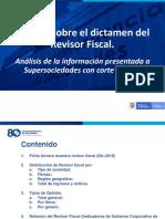 Estudio Sobre El Dictamen Del Revisor Fiscal