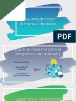 7.5.4 Entrada Manual de Datos