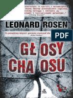 Glosy Chaosu - Leonard Rosen