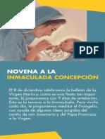Novena Inmaculada Concepcion Papa Francisco San Josemaría