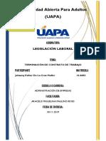 Tarea 5 Legislacion Laboral