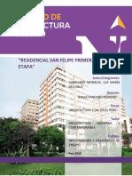 ENsayo Residencial San Felipe