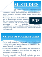 Analysis of the Nature of Different Disciplines
