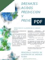 Drenajes Acidos de Mina Prevencion Prediccion y Trata,Miento