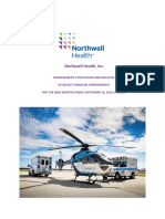 Northwell Q3 2019 Financial Statements With Management Commentary