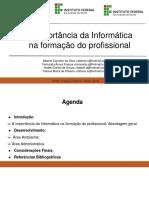 A Importância Da Informática Para a Formação Do Profissional (Gestão Ambiental 2019.2)-2