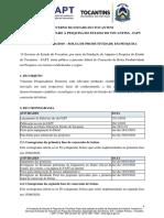 Edital 01 Bolsa Produtividade FAPT 1