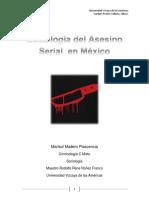 Sociología Del Asesino Serial en México