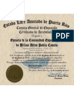 CERTIFICADO ACREDITACION ESC. PABLO CASALS