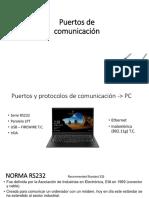 Puertos de comunicacion