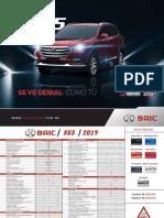 Ficha Tecnica x65 2019