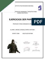 Ejercicios Tercer Parcial Jimenez Gonzalez 5cm8