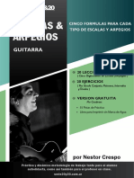 Escalas y Arpegios Guitarra Gratis Www.nestorcrespo.com.Ar
