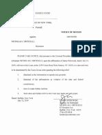 Motion to Dismiss Misdemeanor