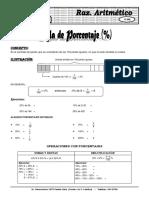 Aritmética A 14ME Porcent