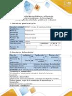 INTERSEMESTRAL INCLUSION SOCIAL 1 Guía de Actividades y Rúbrica de Evaluación