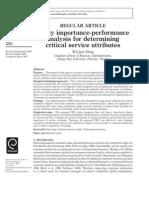 Fuzzy Importance Performance[1]