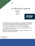 Máquinas Eléctricas Rotativas Sincrónicas