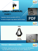 Primer Clase Linux Terminal
