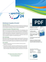 SpectraSan 24 Product Information
