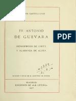 Antonio de Guevara - Menosprecio de corte y alabanza de aldea