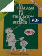 El Fracaso de la Educación en México - Rius.pdf
