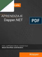 Aprendizaje Dapper .net