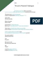 PDF Billions Brunos Pizzeria Dialogue