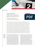 Impunidad en Homicidio Doloso - Reporte 2019 Final