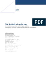 The Analytics Landscape de Jasper Soft