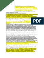 Analisis Del Enfoque de Lenguaje y Comunicación