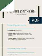 Protein sintesis