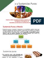 Mezclas y Soluciones, Metodos de separación de mezclas.pptx