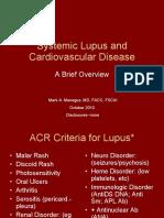 Lupus and Cardiovascular Disease