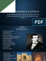Arte Românica e Gótica Poesia