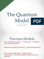 Intro to Quantum Model - Extra Powerpoint