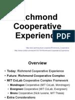 Richmond Cooperative Experience