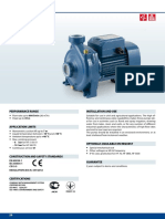 Pedrollo Close Coupled Centrifugal Pump - Medium Flow Rate - HF