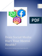 Does Social Media Hurt Your Mental Health
